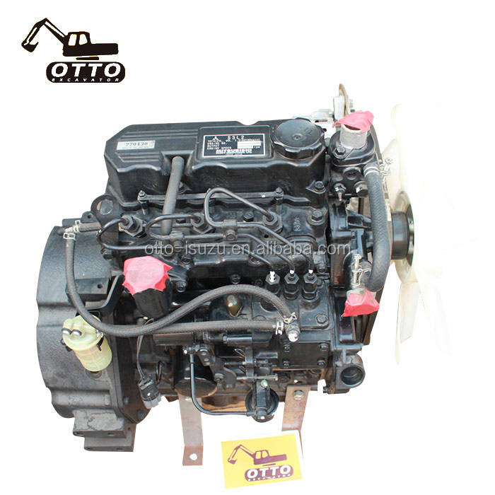 3 Cylinders Mitsubishi S3L2 Diesel Complete Motor Engine Assembly For Machinery Engine Parts
