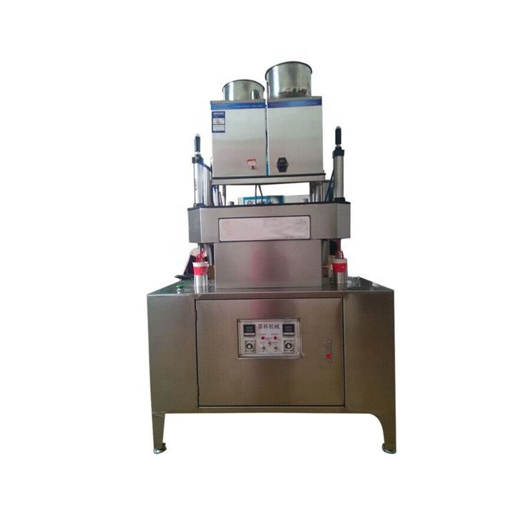 China manufacturer tea cup manufacturing packing machine