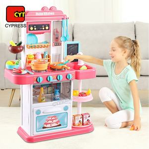 2019 Cocina De Juguete Kitchen Cooking Set Toys Cooking Games
