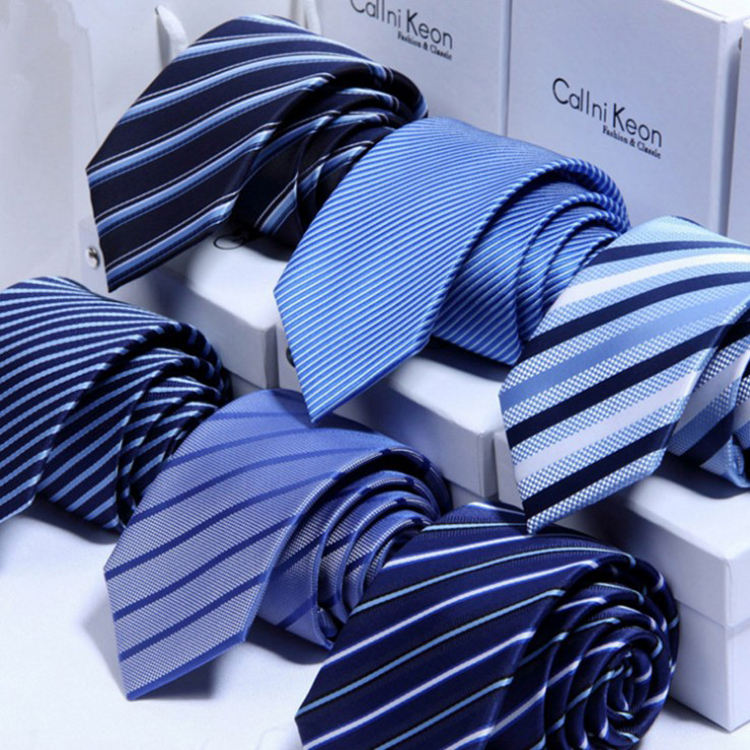 Men's Classic Silk Tie Woven Jacquard Neck Ties