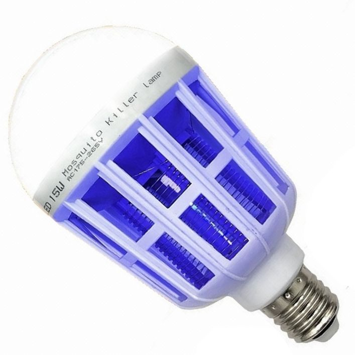 Effective 220V 9W E27/B22 LED mosquito killer bulb
