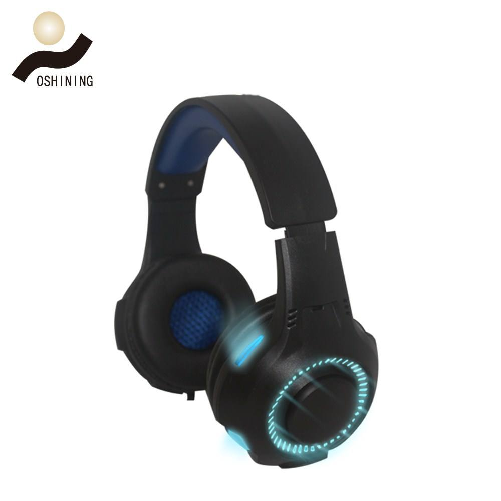 Nuevo Producto sonido estéreo con cable Gaming Headset 3,5mm enchufe alambre largo auriculares para juegos de PC