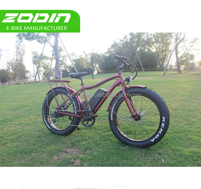 Moda Mountain Bike Chopper Bicicleta Elétrica Fit
