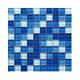 Hot Sale Blue Glass Mosaic Tiles for Pool Family Swimming Pool Mosaics