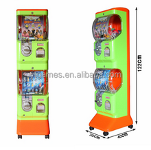 Token Press automatic amusement park Gashapon toy bouncy ball machine