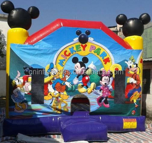 World most lovely micky mouse inflatable bouncer