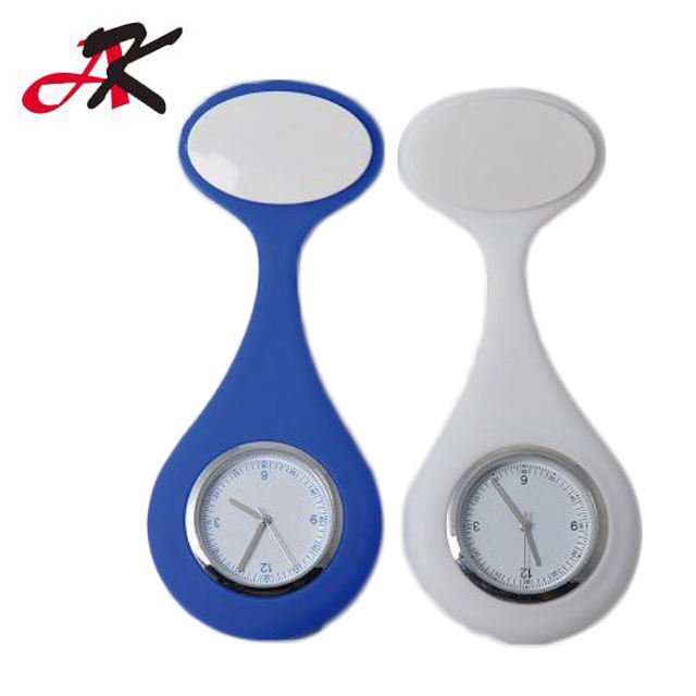 Medical Brooch Nurse Pocket Doctor Watch Silicone Rubber Digital Nurse Watch