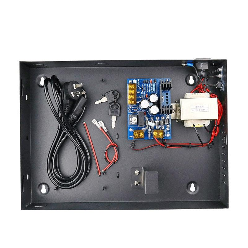 Best selling 12V 5A access control power supply with back up battery