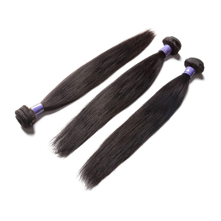 100% natural true human malaysian hair bundles 9a,unprocessed cuticle aligned hair wholesale