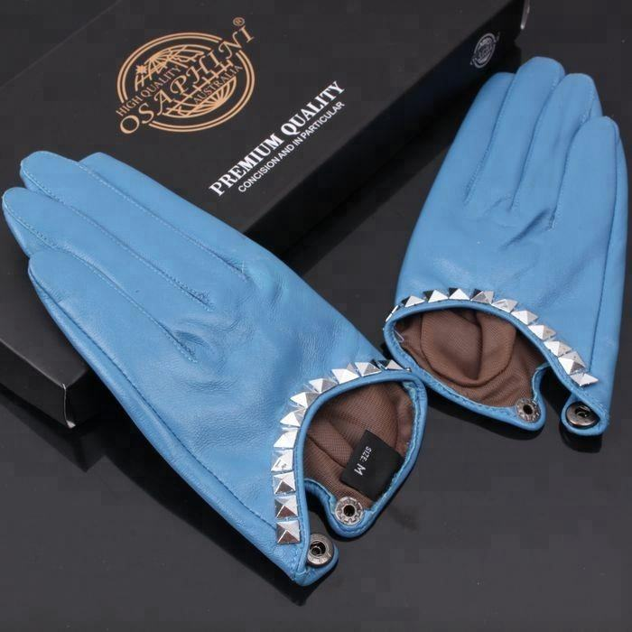 Hot Sale Luxury Mini Women Genuine Sheepskin leather Glove Sexy Leather Glove