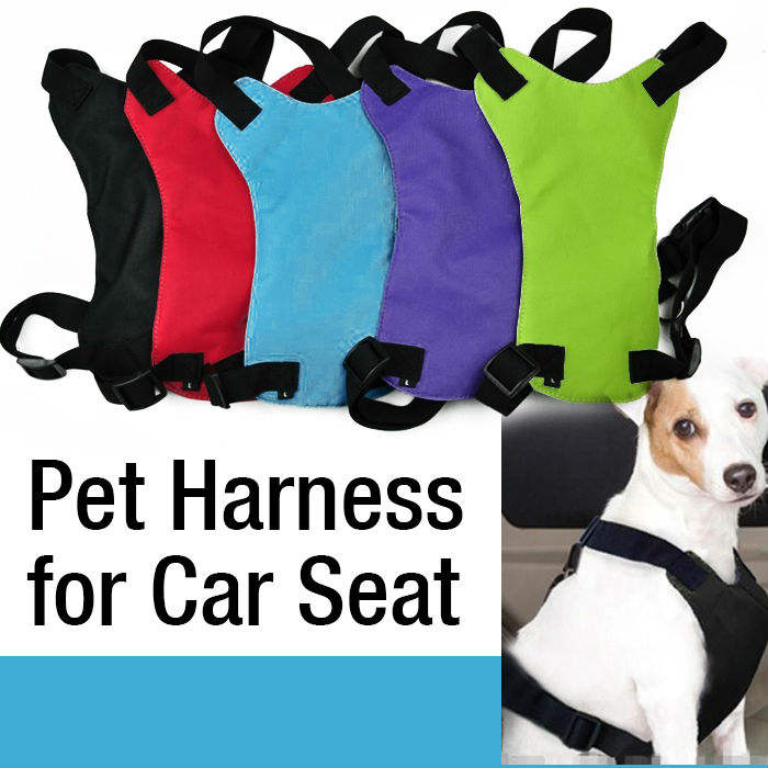 개 Safety Harness Pet 차 Seat Vest