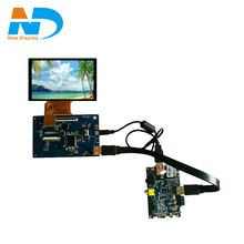 5 inch 800*480 touch screen open frame  lcd monitor