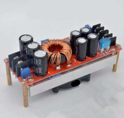 New 1200W DC-DC Boost Converter Power Supply 10V24V48V Step up to 12V-80V 20A