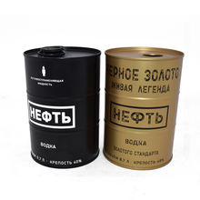 Dongguan Empty Vodka Whisky Drink Tin Can Liquor Bottle