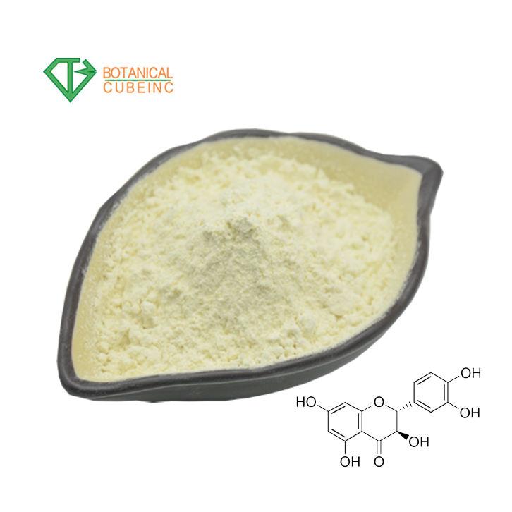 Siberian Larch Extract CAS 480-18-2 Dihydroquercetin Taxifolin 90% Dihydroquercetin DHQ Powder