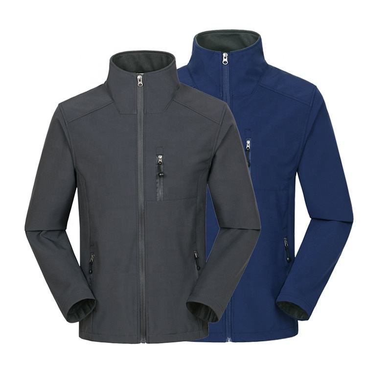 Custom Mens Sports Wholesale Stylish Plain Windproof Waterproof Outdoor Softshell Jacket