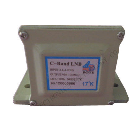 internet tv receiver c-band single polariztion for digital satellite reception for broadcast