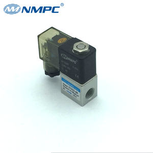 Low Cost 2V025-06 2V025-08 1/8 1/4 inch DC 12V 2 Way Normally Closed Electric Solenoid Air Valve for Air Water Oil
