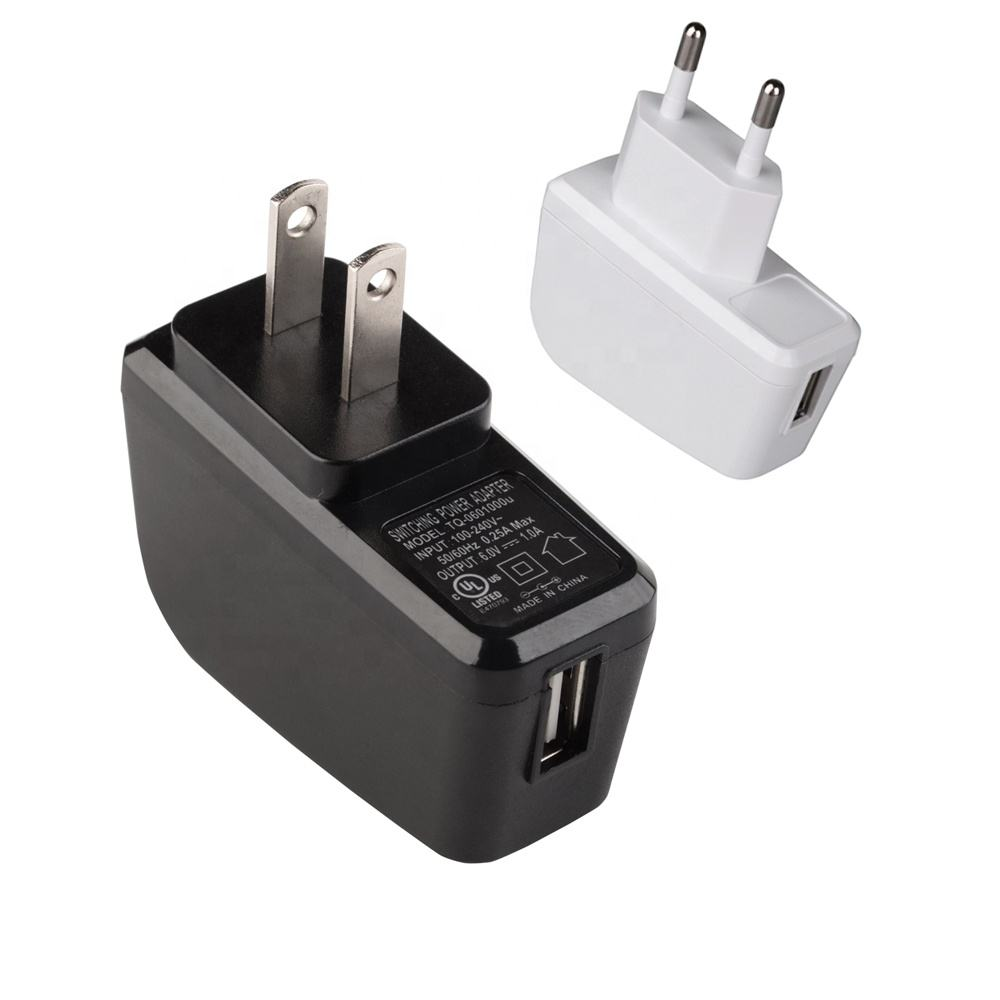 Level VI 5 v 0.4a usb power adapter mit UL/CUL TÜV CE FCC PSE GS ROHS CB SAA c-tick, 2 jahre garantie