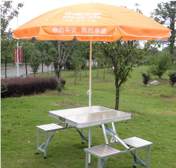 2017 aluminum folding tables and chair with competitive price