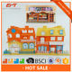Happy Family Big House Villa Toy With Light &music For Kids