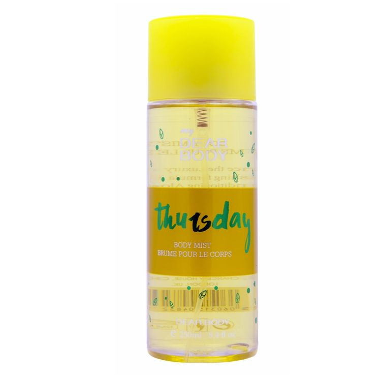 brand name Best designers new body mist perfume