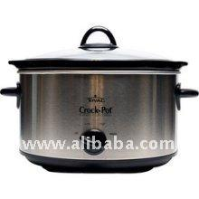 Crock-Pot SCV401BS 4 Qt Oval Manual Stainless Slow