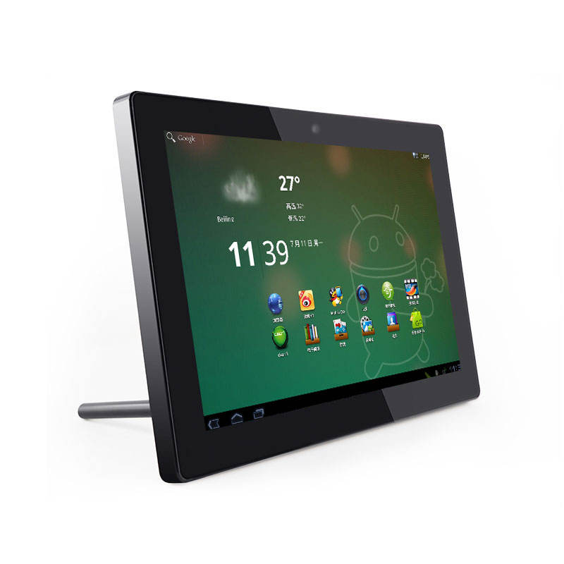 Touch screen DC power 10 12 inch IPS 1280 x 800 Android AIO