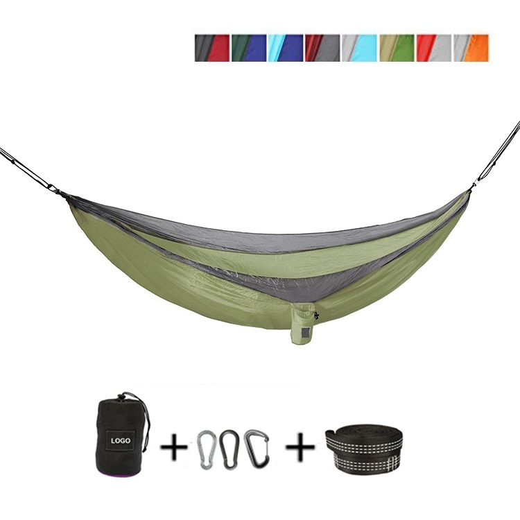 New fashion double portable waterproof hammock for camping