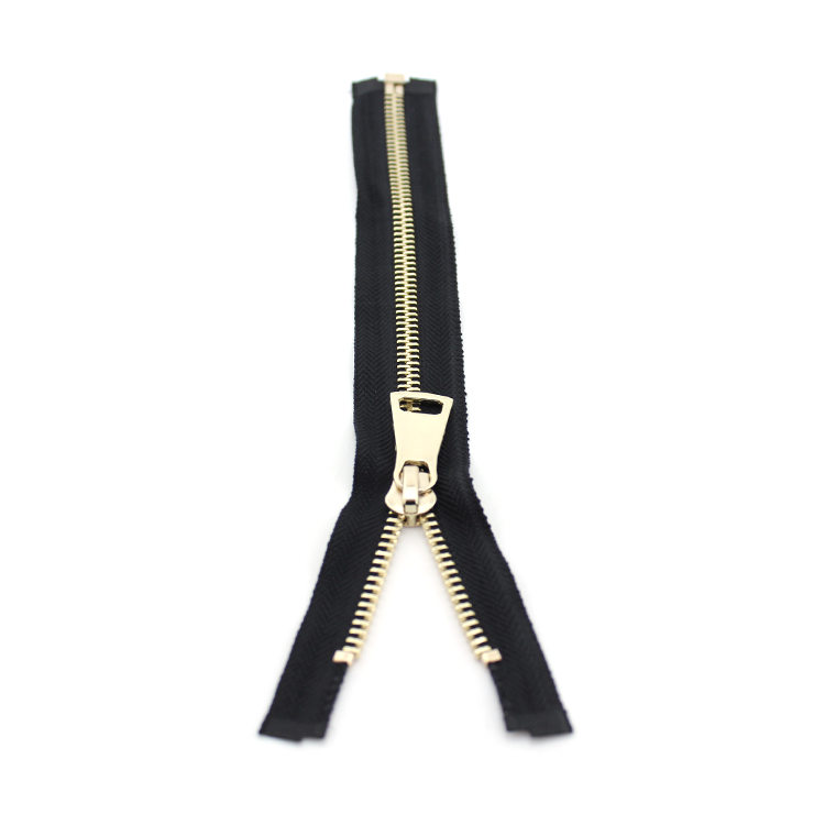 YAB Wholesale Product No 8 Custom Size Open-End Metal Zipper For Garments