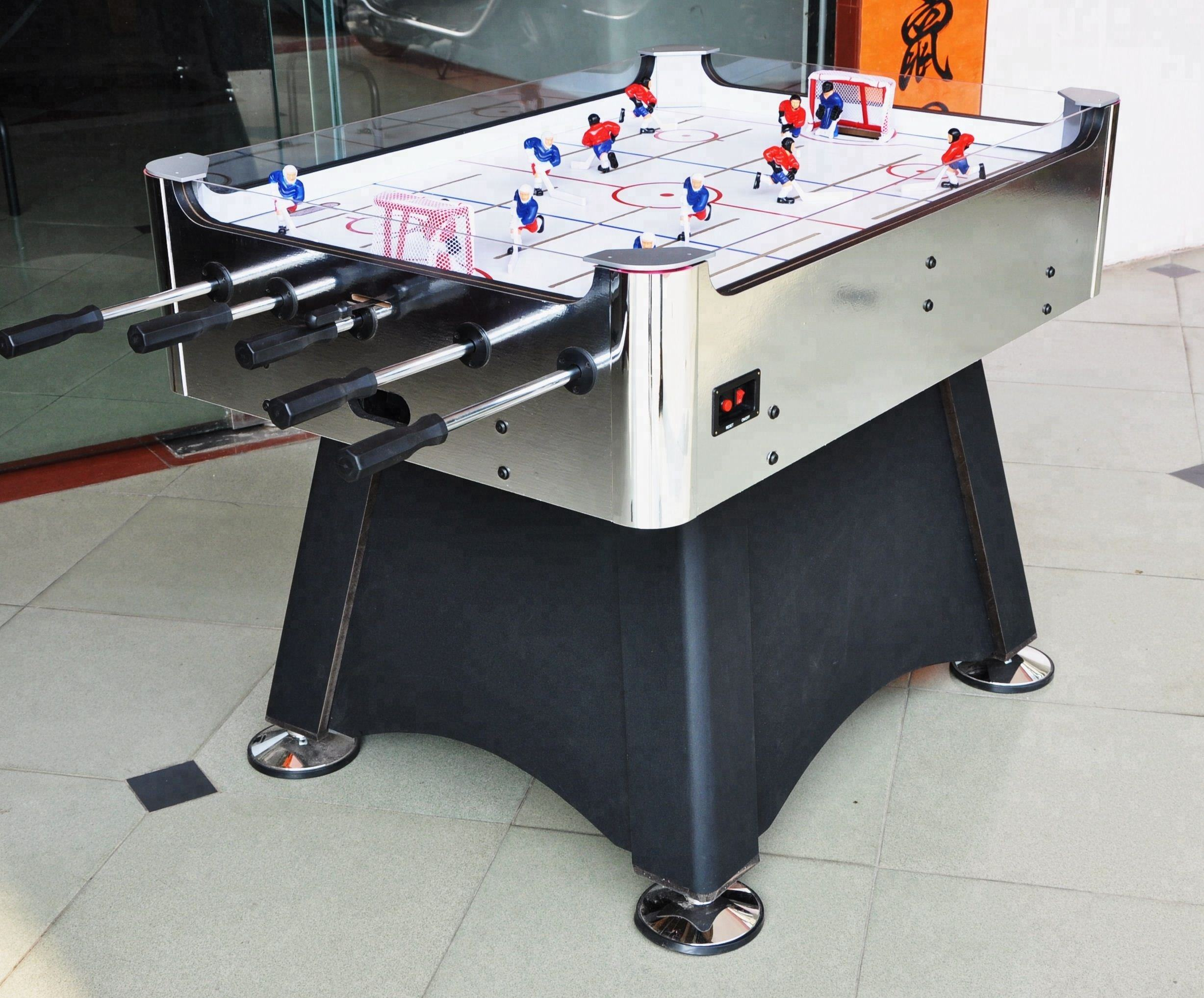 Popular design best selling indoor customized Bubble Hockey Table