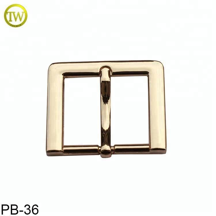 Hot sale gold men belt accessories metal pin buckle for strap 31mm