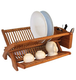 bamboo dish drying rack copper dish rack