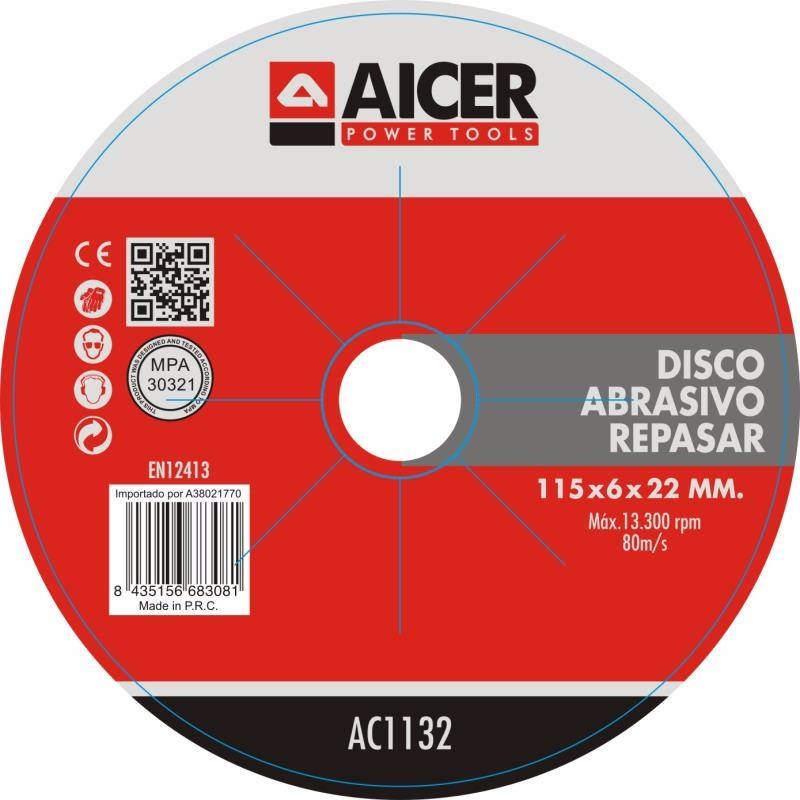 Cutting disc and depressed center grinding wheel brand for printed label paper
