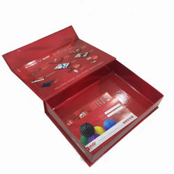 High quality custom printing gift package red paper box with lid printing China Offset Printing Factory Direct Services