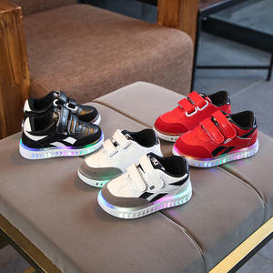 Wholesale children fashion led sneakers high quality kids casual shoes