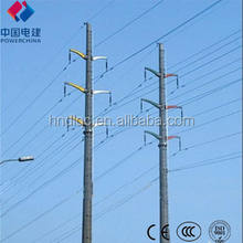 high tension electric poles