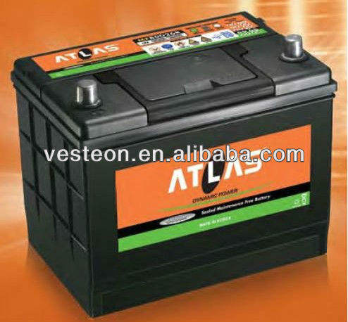 KOREAN BRAND BATTERIES ATLAS, DELKOR, ROCKET