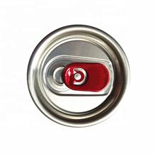 202#SOT EOE recycle aluminum ring pull tab end cap cover easy open cans aluminum lids for food beverage cans with child proof