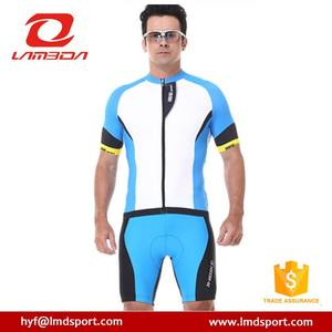 Short Sleeve Custom Coolmax Bike Suit Cycling Jersey