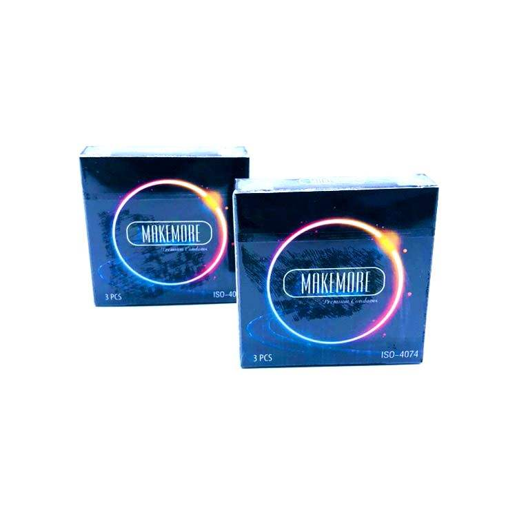 flavour dotted condom with condom custom logo for vibrating rings and gift box condom