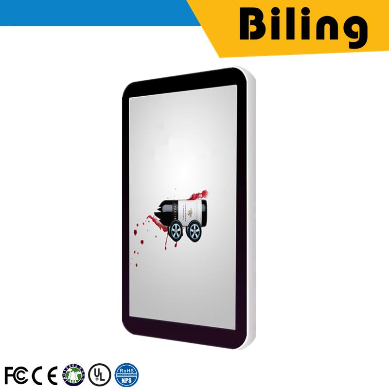 2017 en popüler HGM49BA (N) 04 AD Oyuncu açık hava reklam panosu led cep telefonu posters49Inch Ekran