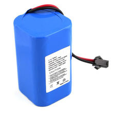 Deep cycle 18650 cylindrical cell 4S1P 14.8v 2200mah li-ion battery pack