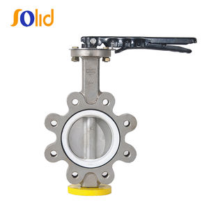 CF8,CF8M/Stainless Steel Lug Type Butterfly Valve