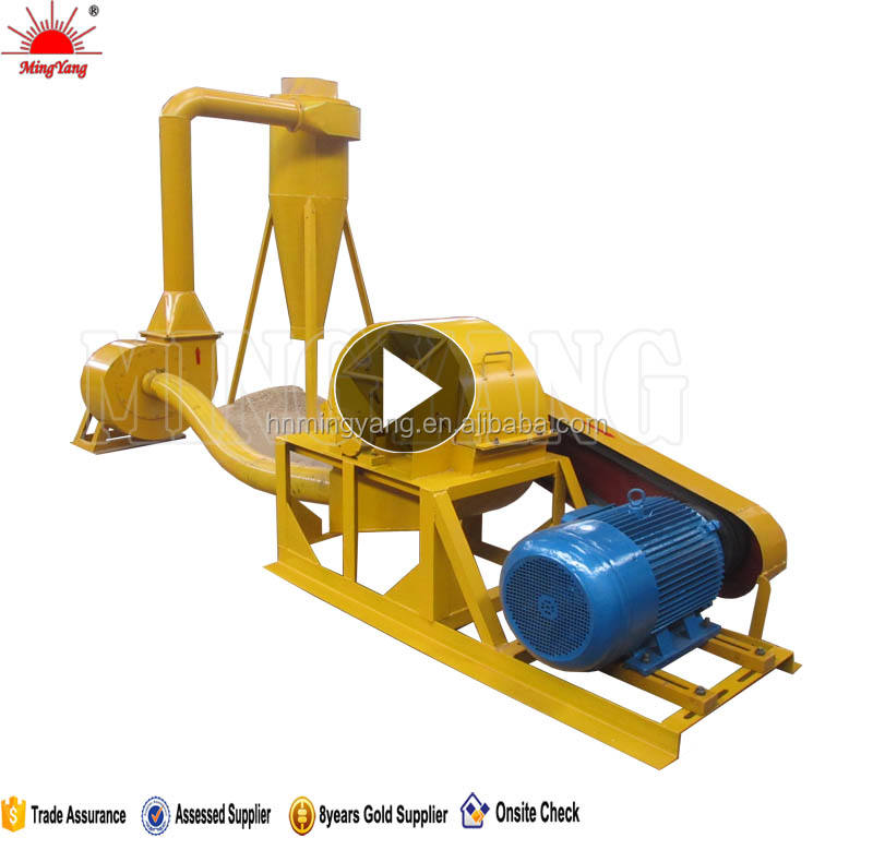 20 years experience produce tree root crushing machine made in china