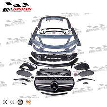 High quality taiwan pp material CLA Class W117 CLA45 style Complete body kit for MB CLA class CLA180 CLA200 CLA260 2013-2016Y