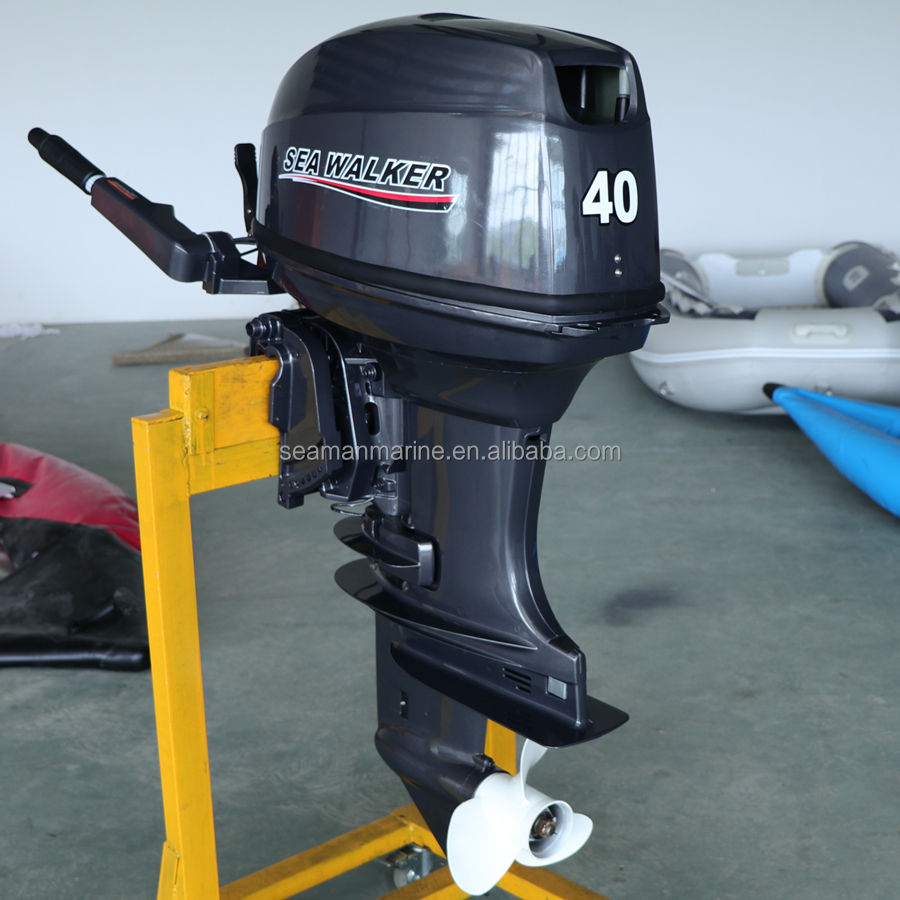 2 stroke 40HP Outboard motor Short Shaft E40X Marine boat Engine with CE