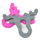 Baby silicone Deer teether for silicone teething beads for jewelry