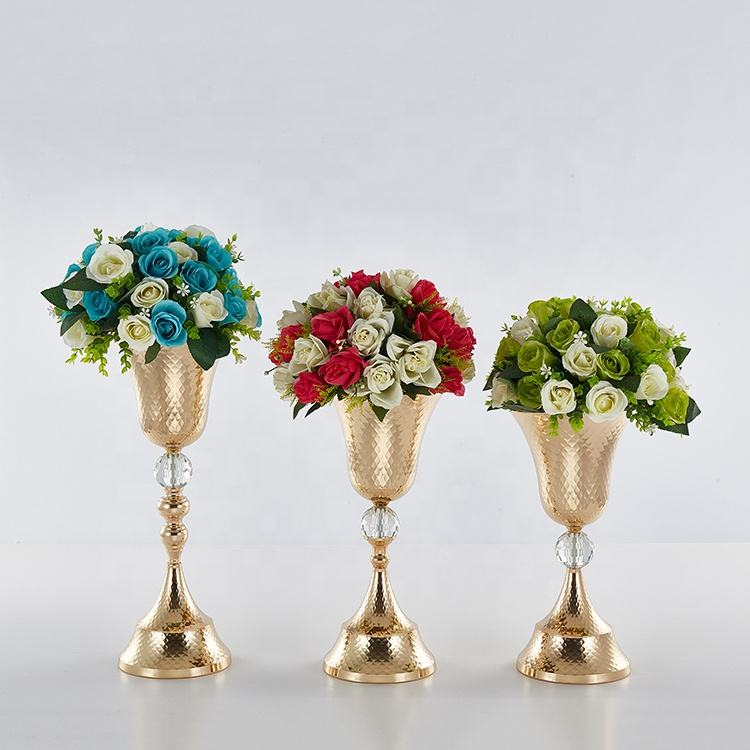 large diameter vase latest centre pieces wedding decoration