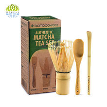 Hot-selling Amazon Matcha Accessory Set including bamboo whisk and spoon